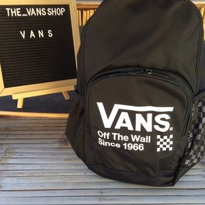 Vans Off The Wall Backpack Standard Size